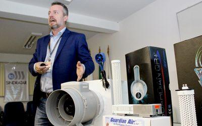 Inovação tecnológica assegura purificação nos dutos de ar-condicionado